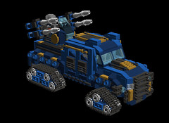 o1 6w suv anti-air2 (demitriusgaouette9991) Tags: lego military army ldd armored suv tank turret powerful deadly future vehicle