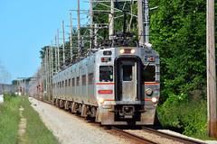South Shore #3 (Jim Strain) Tags: jmstrain train railroad railway interurban passenger commuter transit nictd indiana michigancity southshore beverlyshore