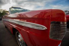 1964 Mercury Comet Fender Detail (Photos By Clark) Tags: lamesa california canon5div location canon1740 northamerica cities unitedstates locale places where us 1964 red comet mercury car restored closeup wideangle