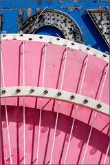 Blush (Ernie Visk) Tags: pink colorful lines blue