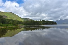 Reflections of Derwentwater (Nige H (Thanks for 12m views)) Tags: nature landscape lake derwentwater lakedistrict sky clouds reflections catbells skiddaw cumbria england