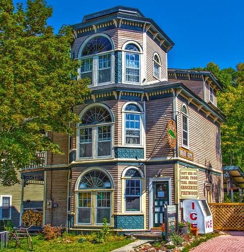 Keene New York - Brew Castle - Former Mansion