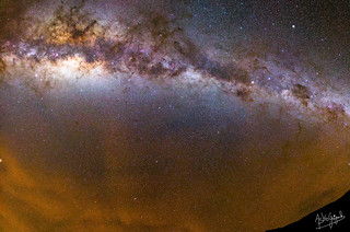 A Night in the Chilean Andes