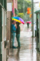 Love (A Great Capture) Tags: prideweekend loveislove pride umbrella rainbow rain rainy raining people shelter love umbrellas moment agreatcapture agc wwwagreatcapturecom adjm ash2276 ashleylduffus ald mobilejay jamesmitchell toronto on ontario canada canadian photographer northamerica torontoexplore summer summertime été 2018 colours colors colourful colorful cityscape urbanscape eos digital dslr lens canon rebel t5i wet water agua eau outdoor outdoors vibrant cheerful vivid bright streetphotography streetscape photography streetphoto street calle