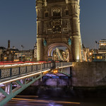 On The Tower Brigde at night thumbnail