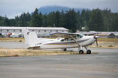 C-FCNH C185 (Vernon Harvey) Tags: cfcnh cessna 185 skywagon valley helicopters abbotsford yxx