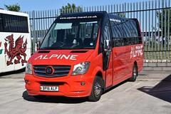 Alpine - BP16ALP (Transport Photos UK) Tags: transport nikond5500 nikon 2018 transportphotosuk adamnicholson coach bus wales sprinter mercedesbenzsprinter mercedesbenz llandudno alpine adamnicholsontransport photos uk