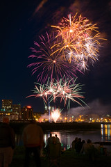 Canada Day - 2018 (Adam Curran) Tags: saintjohn saint john newbrunswick new brunswick nbphoto nikond3300 d3300 nikkor canadaday canada day fireworks outdoor outdoors prolongued exposure night