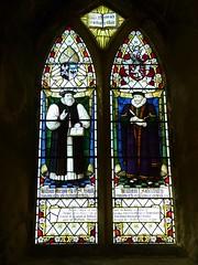 Church - Conwy, St Mary 180429 [Swinford Wood Memorial Window a] (maljoe) Tags: church churches conwy stmarys stmaryconwy stainedglass stainedglasswindow stainedglasswindows
