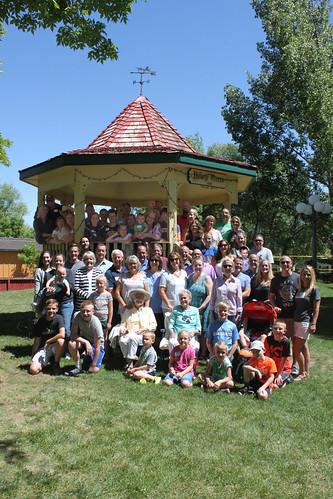 Whole family gazebo 11x16