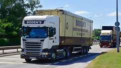 MX16 XFP (Martin's Online Photography) Tags: scania r450 truck wagon lorry vehicle freight haulage commercial transport a580 leigh lancashire nikon nikond7200