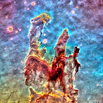 Eagle Nebula with X-Ray Sources, variant thumbnail