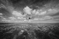 Arnish Lighthouse (The Unexplored) Tags: lighthouse horizon bw nb lightroom photomatix photoshop nikon sigma 816mm isleoflewis westernisles outerhebrides scotland scottish arnish point thegrimgit grimgit unexplored theunexplored