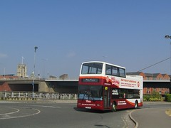 East Yorkshire 888 T510SSG Tower St, Hull on Hull Explorer (2) (1280x960) (dearingbuspix) Tags: eyms eastyorkshire 888 t510ssg hullexplorer goahead gonortheast