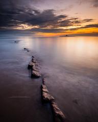 Island Light (Squareburn) Tags: sunrise dawn northumberland hauxley coquetisland seascape longexposure