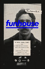 funhouse by Michael George Haddad (inspiration_de) Tags: branding creative flyer funhouse graphicdesign music poster vintage