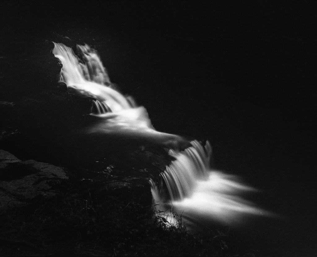 Img126 adam clark photography tags blackandwhite black white water waterfall film shootfilm analog