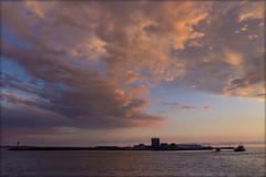 Вечернее небо Балтики. Evening sky over the Baltic Sea. (atardecer2018) Tags: санктпетербург 2017 вечер sanpetersburgo saintpetersburg sky sea seascape summer sunset
