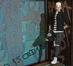 * From HEVO // Rothco Rolled Up Shirt (βĂŞĶĂℕ МŲℜℚ) Tags: outdoor winter talr tale maitreya body event hair shop catwa catya hands vista blog blogger emily avatar manken model fashion firestorm 2life work world white blue dress