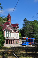 KVG 456 Kassel-Wilhelmshöhe Park 2018 (moorbahner71) Tags: strasenbahn deutschland tramway germany digi nikon cmk kvg kasseler verkehrs gesellschaft kassel triebwagen personenzug