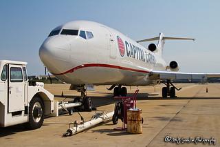 N899AA Capital Cargo International Airlines | Boeing 727-223(A)(F) | Memphis International Airport
