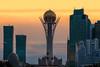 The Baiterek Tower (Andrew G Robertson) Tags: world cup trophy astana kazakhstan baiterek tower