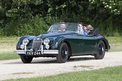 Jaguar XK150 (Roger Wasley) Tags: jaguar xk150 toddington gloucestershire classiccar