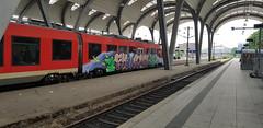 20180527_185300 (Under Color) Tags: kiel hbf schleswig holstein rb re db regio zug train bahn graffiti art vandal kunst