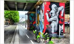 A deux c'est mieux.... (mamasuco) Tags: nikon d7000 paris streetart graffitis ourcq quartierourcq ourcqlivingcolors ngc