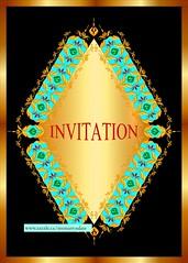 Fabulous daimond design Invitation cards (cyrusmorr) Tags: invitation card diamond classic gold beautiful decorative stylish