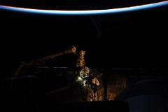 Spacewalk (Astro_Alex) Tags: space iss spacewalk eva horizons mission