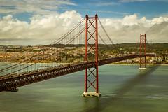 Ponte 25 de Abril, Lisbon (udo.garrel) Tags: ponte25deabril lisbon portugal world100f