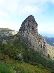 Agando-szikla (ossian71) Tags: spanyolország spain kanáriszigetek canaryislands gomera lagomera garajonay tájkép landscape természet nature hegy mountain szikla rock agando
