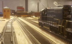 Hurry up and wait! (luckystrike92) Tags: new york central athearn proto 2000 e7 gp7 gp35 wayne jct