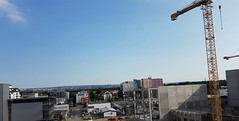 Fernblick zum Flughafen Stuttgart und Fernsehturm (eagle1effi) Tags: herma bonlanden regionstuttgart fernblick zum flughafen stuttgart und fernsehturm
