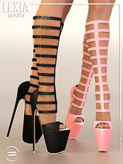 EQUAL - Lexia Boots (EQUAL SL) Tags: secondlife shoes heels boots belleza maitreya slink summer equal equal10