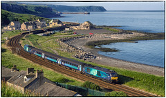 Coastal Calm (Welsh Gold) Tags: 68003 68017 2c35 barrow carlisle service parton serene morning calm cumbrian coastline england