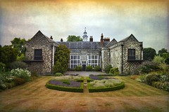Summertime (Jocelyn777) Tags: historichouses historicsites tudor gardens trees foliage flowers sky summer heat textured hallplace bexleyheath bexley london england architecture monuments