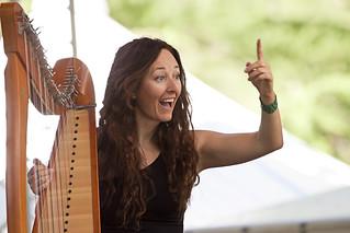 Momenti di Celtica 2018, Katia Zunino sul palco