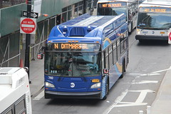 IMG_9609 (GojiMet86) Tags: mta nyc new york city bus buses 2017 xn40 740 subway shuttle queens plaza south crescent street