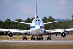USAF 73-1677, OSL ENGM Gardermoen (Inger Bjørndal Foss) Tags: 731677 usaf boeing 747 e4b osl engm gardermoen