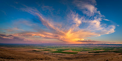 Summer storms (dwolters2) Tags: yakimacounty pnw washington sunset lowervalley clouds