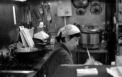 地元の総菜屋さん (taotti_01) Tags: leica ⅲa elmar 5cm f35 kodak 400tmax film filmcamera monochrome bw blackandwhite japan