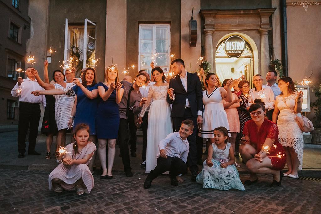 570 - ZAPAROWANA - Kameralny ślub z weselem w Bistro Warszawa