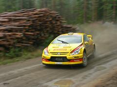 Gigi Galli, Peugeot 307 WRC (Vikuri) Tags: rally finland 2006 wrc racing rallying ralli rallycar motorsport gravel jyväskylä suomi panasonic gigi galli peugeot 307
