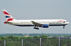 Boeing 767-336 G-BNWZ British Aws (EI-DTG) Tags: planespotting aircraftspotting londonairport londonheathrow lhr 22may2018 boeing b767 boeing767 gbnwz britishairways