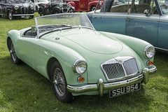 SSU 954  1961  MG A Roadster (wheelsnwings2007/Mike) Tags: ssu 954 1961 mg a roadster north rode rally cheshire 2018