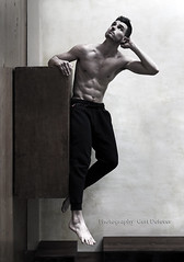 IMG_2245h (Defever Photography) Tags: male model fitness albania fit muscled muscular 6pack sweatpants