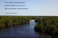 Henry David Thoreau quotes (Eagle-Wings) Tags: henrydavidthoreau toughts quotation ontario ottawariverrapids ottawa eternity eachmoment publicdomain text words