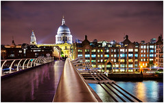 St Paul's Cathedral (Heathcliffe2) Tags: st pauls saint cathedral church night photography colour london england city scape skyline british